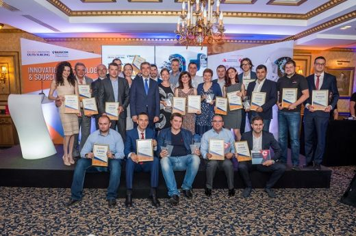 Sofia Airport Center with an award from Innovation, Technology & Sourcing Awards 2017