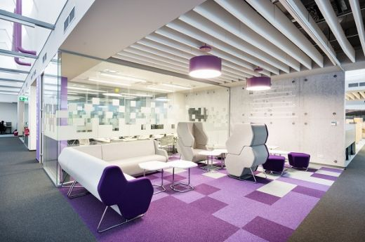 Sabre`s new futuristic office space at Buma Square